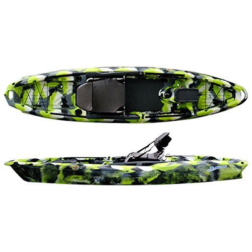 3 Waters Big Fish 120 Kayak - Green Camo
