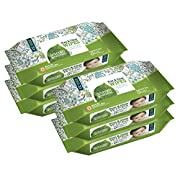 Seventh Generation Thick & Strong Free and Clear Baby Wipes Refill, Pack of 6 (Total 384 Count)