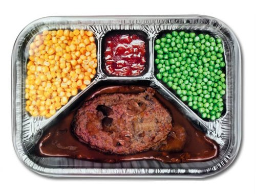 Retro Dinner Printed Serving Tray Novelty