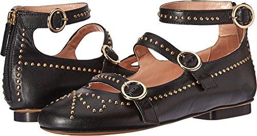 Boutique Moschino Women's Studded Strappy Flat Black 35 M EU