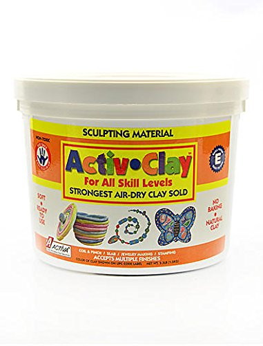 Activa Products Activ-Clay (White) 1 pcs sku# - Clay Activa Activ