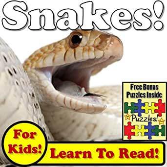 Snakes learn about snakes while learning to read snake photos and childrens ebooks fandeluxe Image collections