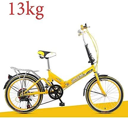 Grimk 20 Pulgadas Plegable De Aluminio Bicicleta De Paseo ...