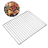 Rosa Kiss BBQ Stainless Steel Rod Replacement Cooking Grill Grid Grate Carts Outdoor Cooking Tools