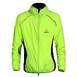 Men'atmungsaktiv Fahrrad Regenjacke Tour Frankreich Kleidung schnell trocknend, winddicht, lang, für Radsport Trikot, Größe S-3XL XXX-Large grün - grün