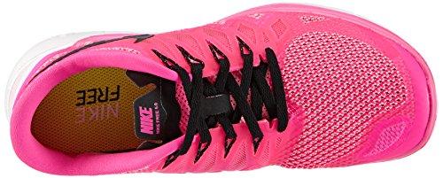 Nike  Free 5.0 - Zapatillas para mujer Pink (Pink Pow/Black-Polarized Pink)