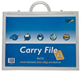 Tiger Clear A3 ART PORTFOLIO Folder Carry Case + Handle NEW!