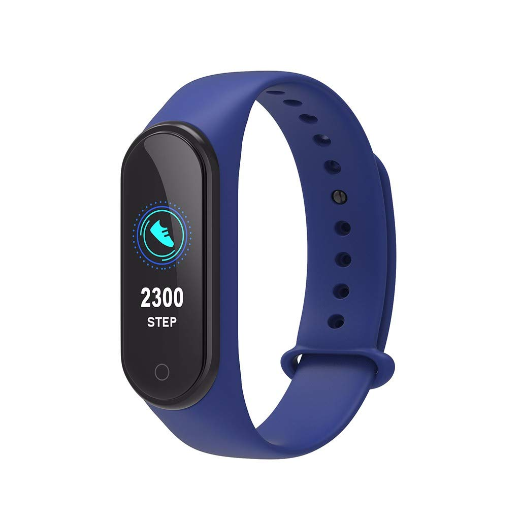 LUXISDE Fitness Bracelet smartwatch Ladies, Activity Tracker M4S Waterproof Sports Watch Smart Bracelet Heart Rate Activity Blood Pressure by LUXISDE (Image #2)