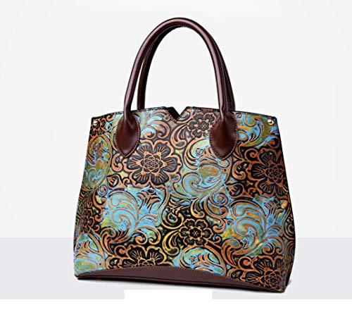 National Hlh Bag Painted 2018 Spring Shoulder Handbags Hand Wind qF7Z54