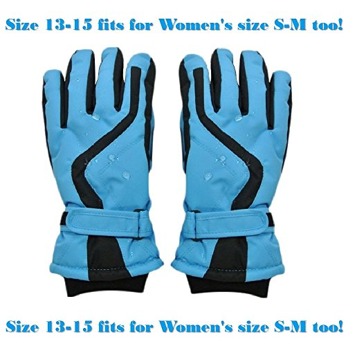 Price comparison product image Highcamp Waterproof Ski Gloves - KWG15SB