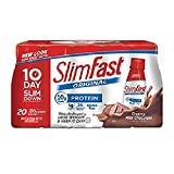 SlimFast Creamy Milk Chocolate Shake (11 fl. oz. bottles, 20 ct.)