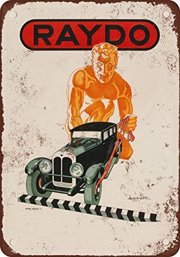 1930 Raydo Brake Shoes Vintage Look Reproduction Metal Tin Sign 7X10 Inches