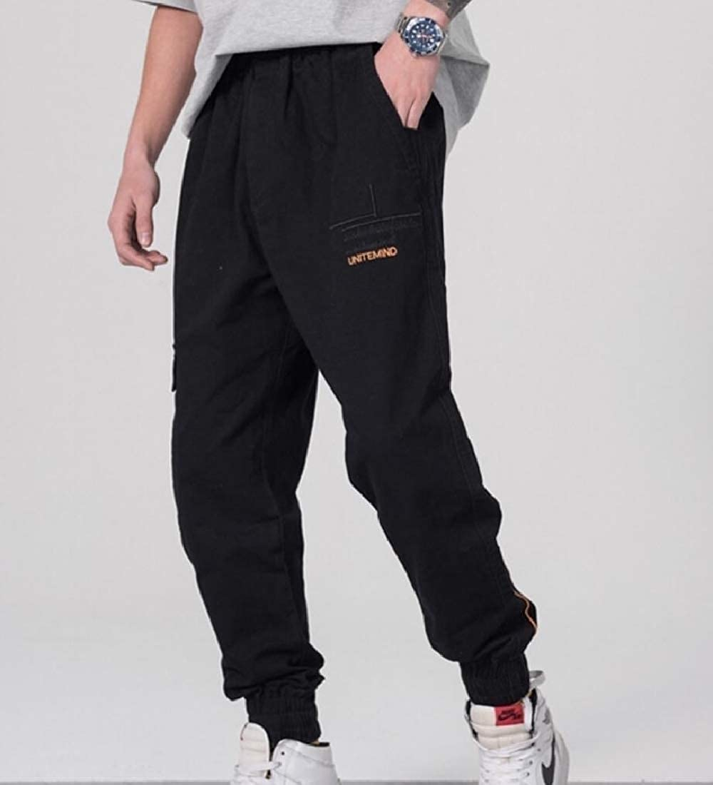 Coolred-Men Multi-Pockets Fashion Youth Spring Summer Casual Cargo Pants