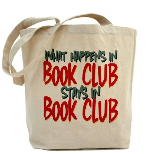 Cafepress what Happens in Book Club Tote bag – standard multi-color by Cafepress