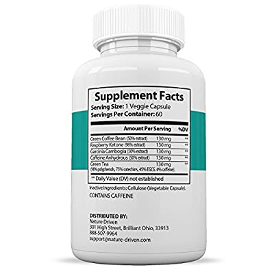 Keto Burn - Weight Loss Supplements - Improve Metabolism - Boost Energy Levels- All-Natural Ingredients - 60 Caplets Per Bottle - One Month Supply - Nature Driven