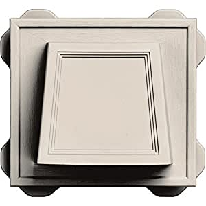 Builders Edge 140116774048 4 Quot Hooded Dryer Vent 048