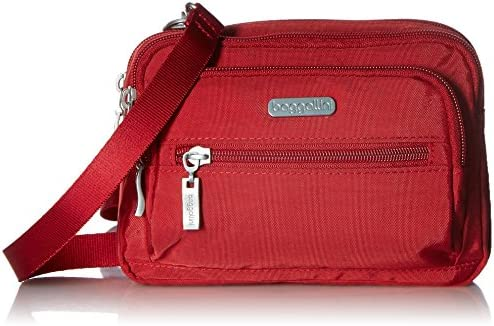 baggallini Triple Zip Crossbody Bag