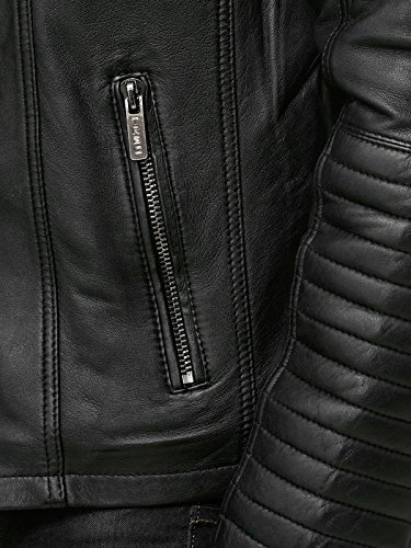 Redbridge M6013 AIR – Giacca da motociclista, in ecopelle, da uomo
