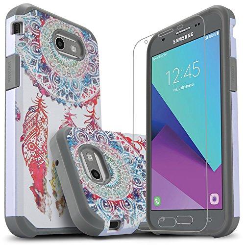 Galaxy J3 Luna Pro Case, Galaxy J3 Emerge/Galaxy J3 Prime/Galaxy J3 Eclipse/Galaxy Express Prime 2/Galaxy Amp Prime/Galaxy Sol 2 Phone Cover, Starshop with [Premium Screen Protector]-Dream Catcher