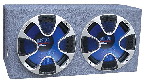 Pyle PLBS122 Dual 12 Inch 1000