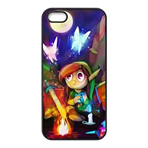 Hipster The Legend of Zelda Super Fit iPhone 4/4s Case Pattern Design Solid Rubber Customized Cover Case for iPhone 4 4s 4s-linda950