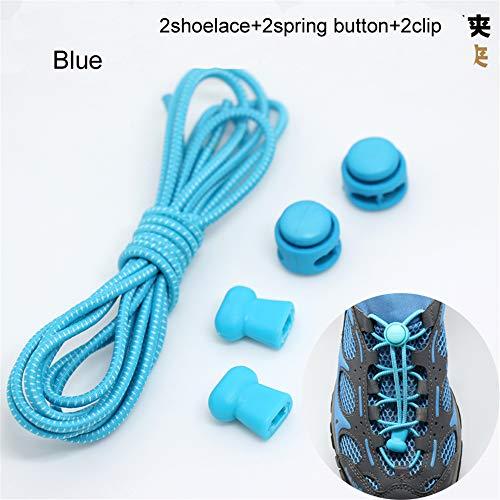 No Per Casual Da Scarpe Tutti Stivali Normale Lavoro Elastici I Adatto E A Shoelaces Sonwve Ginnastica Lacci Blue Tie Nero dP6dSz