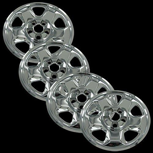 """Chrome 17"""" Hub Cap Wheel Skins for Honda Ridgeline - Set of 4"""