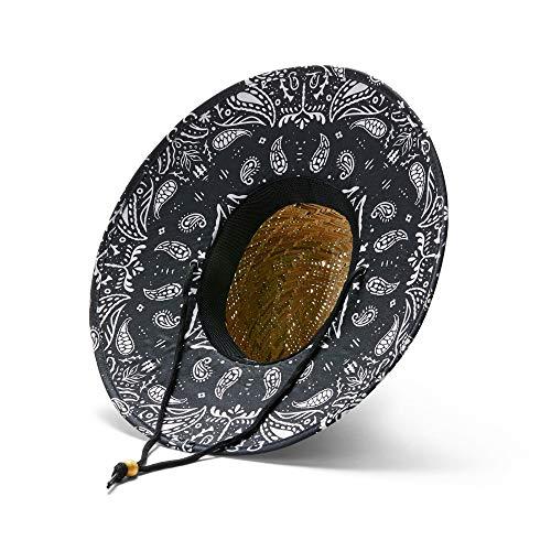 Hemlock Hat Co. Men's Bandit Straw -