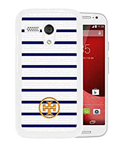 New Unique Custom Designed Case With Tory Burch 72 White For Motorola Moto G Phone Case