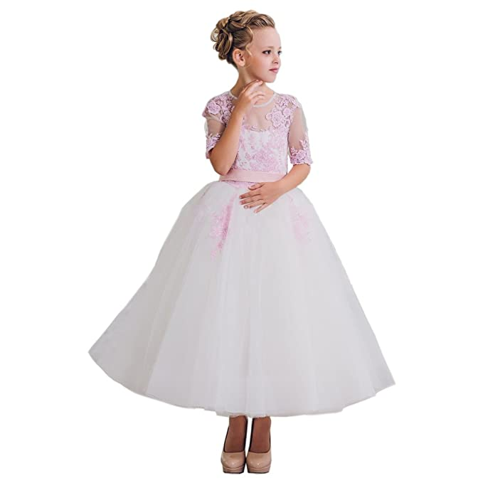 Beautiful First Communion Girl Prom Dresses 2-12 Year Old Size 6 ...