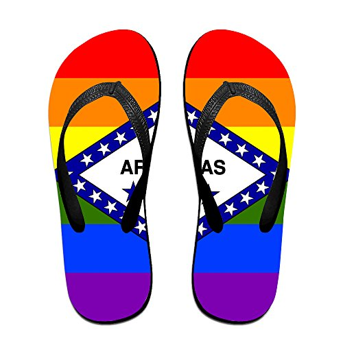 5d1762e1b8716d American Flag And LGBT Summer Non-slip Slide Sandals Home Shoes ...