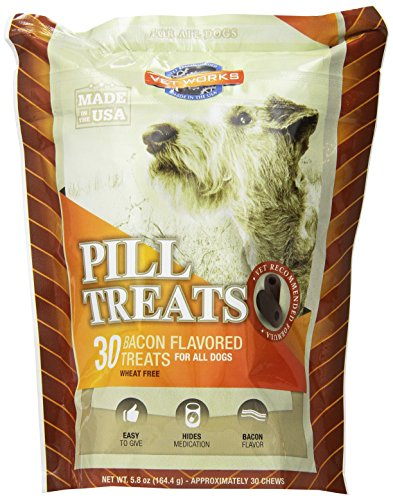 Vet Works 60 Bacon Flavored Pill Treats