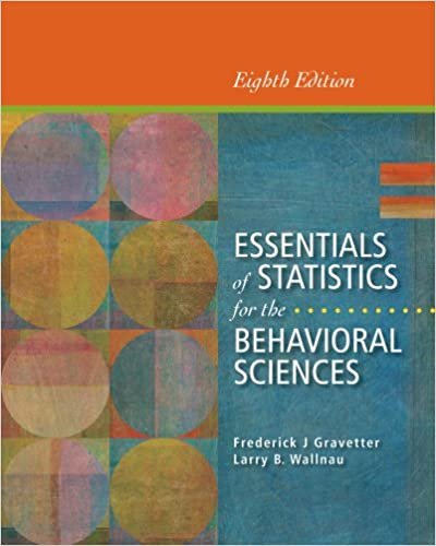 Essentials Of Statistics For The Behavioral Sciences Pdf