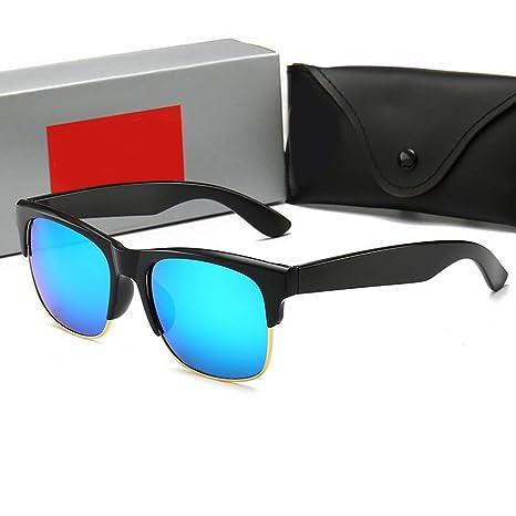 UICICI Gafas de Sol con Montura de Cristal, Gafas de Sol ...