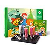 Jar Melo Children's Sand Art Painting Kit; 8 Colors Sand; The Wizard of OZ; Intelligence Toys;