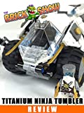 LEGO Ninjago Titanium Ninja Tumbler Review LEGO 70588