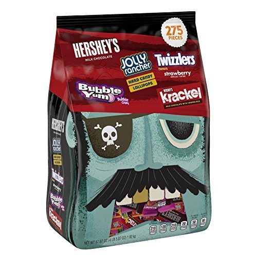 Hershey's Halloween Snack Size Assortment, 275-Count Bag by Hershey's -