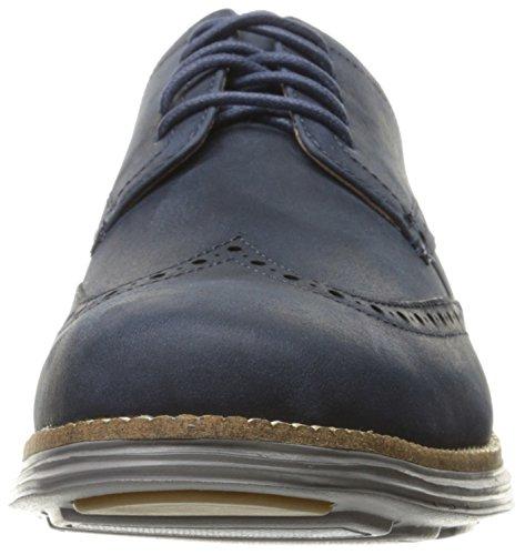 Cole Haan Mens Original Grand Oxford Blazer Blu / Ironstone
