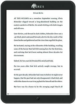 Icarus Illumina XL 8 Android e-reader con luz frontal (Wi-Fi ...