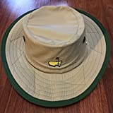 Masters 2018 Golf Khaki/Green Dorfman Pacific Sun Hat Small/Medium