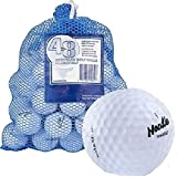 Maxfli 169774 48 Recycled Golf Balls in Mesh Carry Bag, White