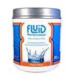 Fluid Performance Fresh Citrus Canister - 30 Servings - root, 30 servings