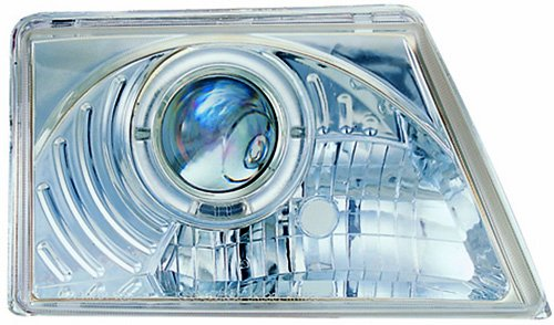 IPCW CWS-506C2 Clear Projector Headlight with Rings and Chrome Housing - (Ford Ranger Ipcw Headlights)