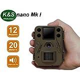 Wildkamera K&S Nano Mk I HD 12MP 940nm Black IR