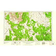 Williams AZ topo map, 1:250000 scale, 1 X 2 Degree, Historical, 1961, updated 1961, 22.1 x 34.2 IN