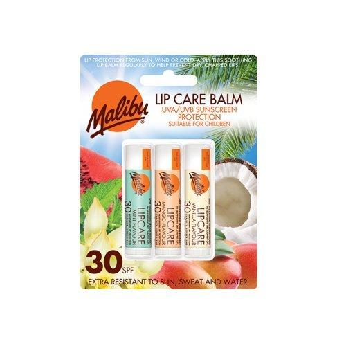 Malibu Blister Lipbalm with SPF30, Mint/Mango/ Vanilla 12 ml EM640BLI/MMV