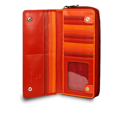 visconti-rb-55-multi-colored-red-orange-crimson-ladies-soft-leather-checkbook-wallet-and-purse