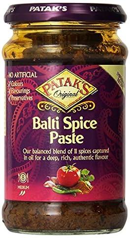 Patak's Medium Balti Curry Paste (283g) - Patak Curry Paste