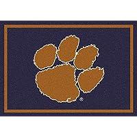 Clemson Tigers NCAA College Team Spirit Team Area Rugs