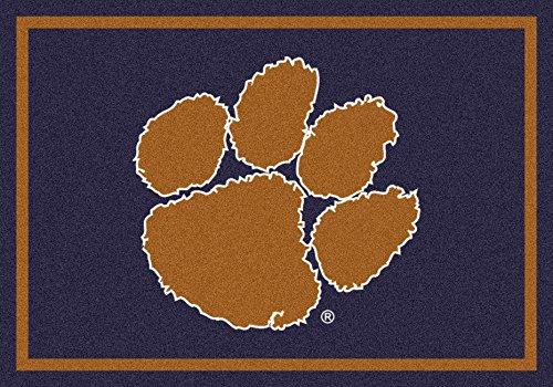 American Floor Mats Clemson Tigers NCAA College Team Spirit Team Area Rug 5'4